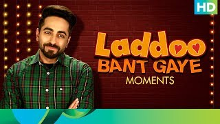 "Is Life giving you Laddoos ? If yes, then send us your Laddoo Bant Gaye Moments with #Laddoo. And win a chance to meet Ayushmann Khurrana & Bhumi Pednekar.Song Name: LaddooName of the Singer: Mika SinghLyricists: Tanishk - VayuMusic Director: Tanishk - VayuProgrammed & Arranged By: Tanishk BagchiMix assistant engineers - LuckyActors: Ayushmann Khurrana & Bhumi PednekarDirector: R.S. PrasannaProducers: Krishika Lulla & Aanand L RaiMusic & Lyrics: Tanishk-VayuFeel the flutters of true love and listen to it here: http://bit.ly/KanhaFullVideoSongCheck out the first bubbly track out here: http://bit.ly/RocketSaiyyanVideoSong""Shubh Mangal Saavdhan"" releases in theaters on 1st September, 2017To watch more log on to http://www.erosnow.comFor all the updates on our movies and more:https://www.youtube.com/ErosNowhttps://twitter.com/#!/ErosNowhttps://www.facebook.com/ErosNowhttps://www.facebook.com/erosmusicindiahttps://plus.google.com/+erosentertainmenthttps://www.instagram.com/eros_nowhttp://www.dailymotion.com/ErosNowhttps://vine.co/ErosNow http://blog.erosnow.com"