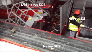 Nihot Recycling DDS 1400 in operation on C&D
