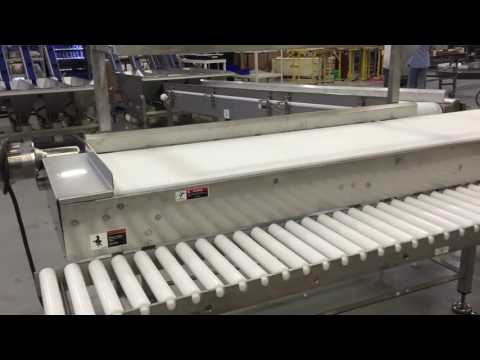 Super Sanitary Conveyor to Hand Pack System using Multiple Technologies by Multi Conveyor