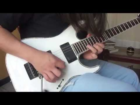 Andy James - Steve Vai Style Quick Licks (Guitar Cover)