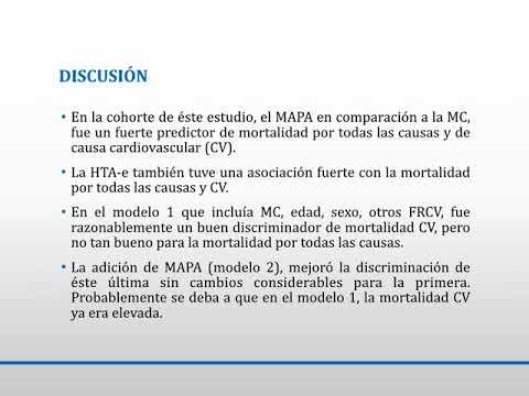 Relación entre la medición ambulatoria o nosocomial  de la TA y la mortalidad. Dra. Carolina Reynoso. Residencia de Cardiología. Hospital C. Argerich. Buenos Aires