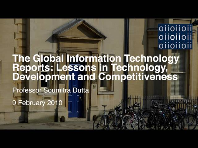 The Global Information Technology Reports: Lessons in Technology, Development and Competitiveness