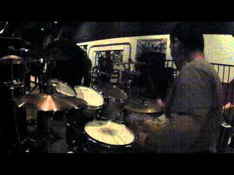 TORMENTER - Tomas Drumcam - live Hell on Wheels 01/04/2014