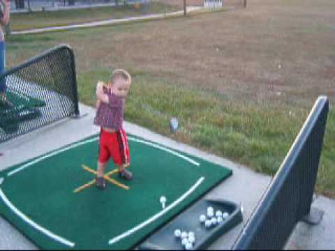 This Kid Has a Perfect Swing and Form. You Won't Believe His Age!