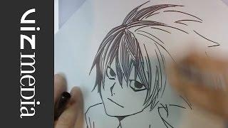 Takeshi Obata: NY Comic-Con 2014 Sketches