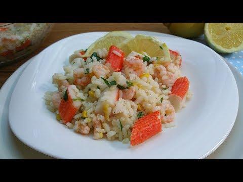 insalata di riso light sapore mare - ricetta