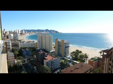 Exclusive offer! Penthouse in Benidorm! Luxury apartments with sea views in Spain!