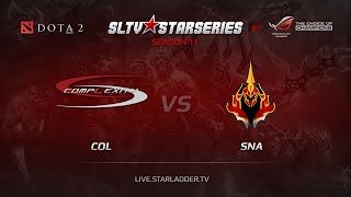 SNA vs coL, game 1