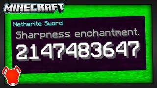 all Minecraft Enchantments BREAK at 2,147,483,647?!