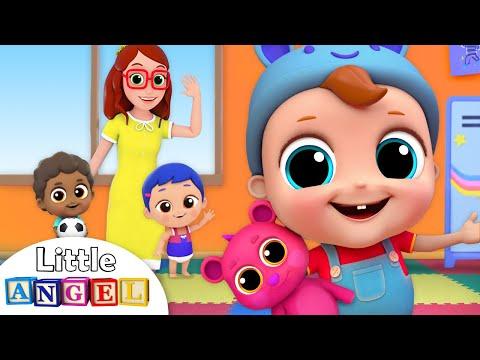 First Day of School | Preschool Song | Nursery Rhymes by Little Angel - Thời lượng: 4 phút.