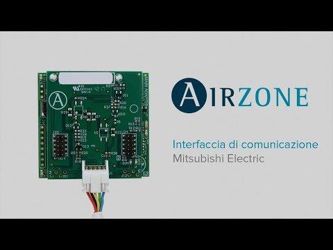 Interfaccia di comunicazione Airzone - Mitsubishi Electric