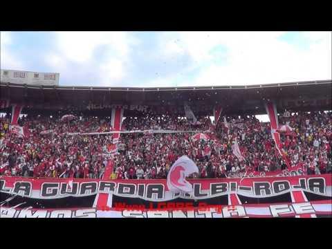 // Vamos Santa Fe,queremos la copa..//Cómo me voy a olvidar y más!// -Ind Santa Fe Vs Atl Nacional - La Guardia Albi Roja Sur - Independiente Santa Fe