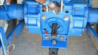 7. Sold! Ford New Holland 1620 HST 4x4 Compact Ag Tractor bidadoo.com