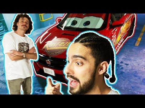 Transformamos el auto deportivo en EL RAYO MCQUEEN!