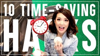 Who here could use an extra hour for themselves in their day?! Hello, that's all of us! I wanted to share 10 time-saving LIFE HACKS that everyone can incorporate so that you can have a little extra time to pamper yourself and relax at the end of the day.__▶▶ Watch more of Jen's videos ◀◀MY VANITY TOUR & MAKEUP COLLECTIONhttps://youtu.be/_PGHFX0sIboAPRIL BEAUTY FAVORITEShttps://youtu.be/mhaeEO13PE8EMPTY PRODUCT REVIEWS: WHAT WAS WORTH IT?!https://youtu.be/zP6geuv0zZo10 WARDROBE BASICS EVERYONE NEEDShttps://youtu.be/762sCOETWdE__▶▶ PRODUCTS MENTIONED ◀◀Aveeno Positively Radiant 60 Second In Shower Facialhttp://bit.ly/2q7xCi2Aveeno Positively Radiant Overnight Hydrating Facialhttp://bit.ly/2q4WdGh__▶▶ FOLLOW JEN ◀◀My Blog: http://www.frmheadtotoe.com Instagram: http://instagram.com/frmheadtotoeFacebook: http://facebook.com/frmheadtotoeTwitter: http://twitter.com/frmheadtotoe Snapchat: frmheadtotoeSubscribe to my 2nd channel! http://youtube.com/frmjen__Disclaimer: Huge thanks to Aveeno for sponsoring this video! Some of the links above are affiliate links. Thanks for your love & support! :)