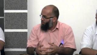 Mexhlis Ramazani në Gjakovë me Hoxhallarët: Bekir Halimi, Ekrem Avdiu, Irfan Salihu
