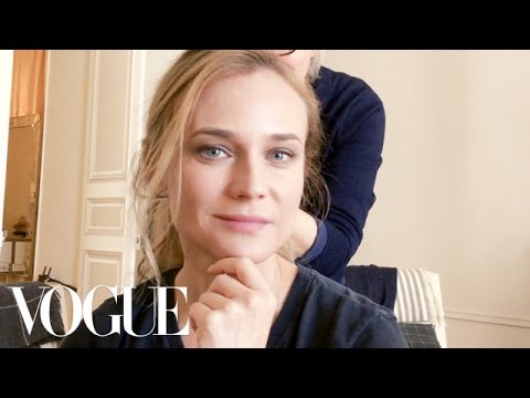 How Diane Kruger Takes Her Beauty Routine to the Front Row | Vogue