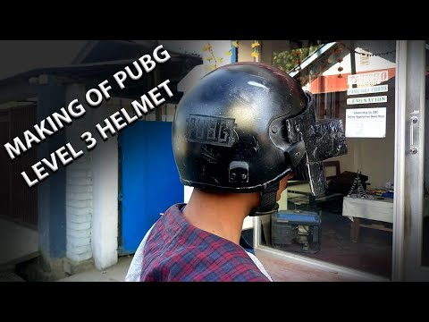 Making Of Pubg Level 3 Helmet