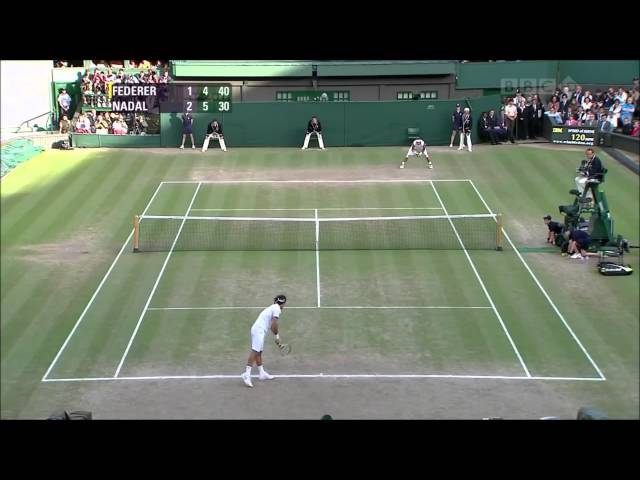 The Biggest Game In The History Of Wibledon-Roger vs Nadal