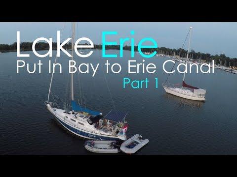 Lake Erie: Put In Bay to Erie Canal - Lady K Sailing - Episode 19_A héten feltöltött legjobb vitorlázás videók