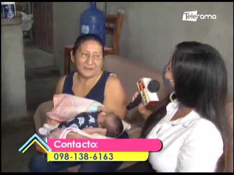 Abuela de bebé que fue abandonado en Guayaquil pide atención médica
