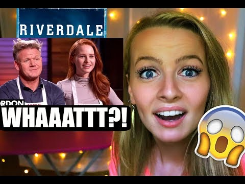 Gordon Ramsay vs Madelaine Petsch in VEGAN MASTERCHEF COOK OFF! (Maddy's reaction)