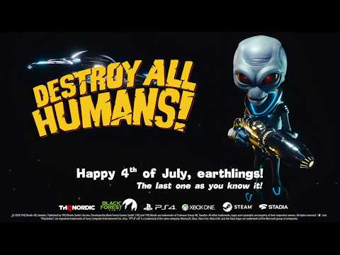 Destroy All Humans! : Dependence Day