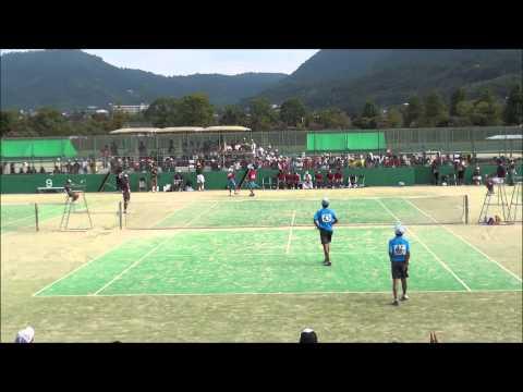14 全国中学校ソフトテニス大会 男子決勝 3