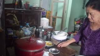 Pakokku Myanmar  City new picture : Pakokku - Grandma Mya Mya Cooking Food Guesthouse Myanmar