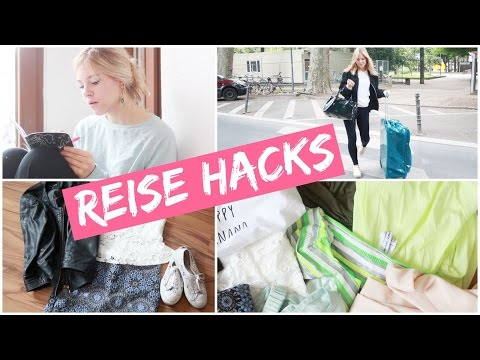 REISE HACKS für den URLAUB I KOFFER PACKEN, OUTFIT & MAKEUP, TO DO LISTE