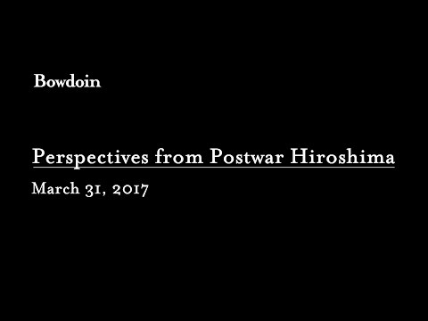 "Symposium: ""Perspectives from Postwar Hiroshima: Chuzo Tamotzu, Children's Drawings, and the Art of Resolution"""