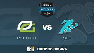OpTic Gaming vs. Rush - ESL Pro League S5 - de_overpass [flife, sleepsomewhile]