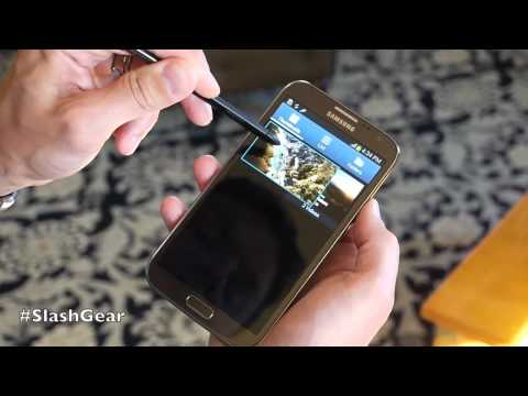 Samsung Galaxy Note II S-Pen features
