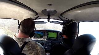 KLOM To KABR Private Flight To Visit University Of Michigan In A Cirrus SR22T - 15KT Crosswind
