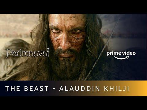 The Beast - Alauddin Khilji | Ranveer Singh | Padmaavat | Amazon Prime Video