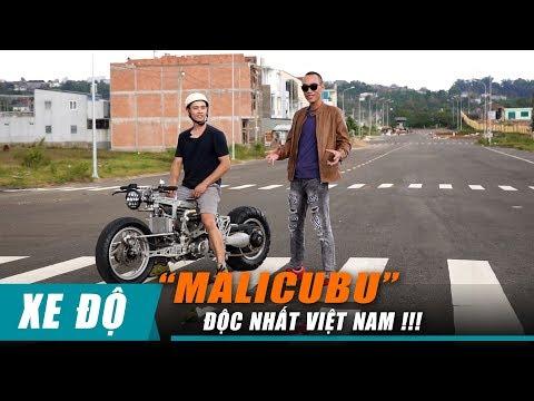 Chàng trai Bảo Lộc sáng tạo mô tô MALICUBU: khung CNC, lái Hub Center Steering cực ĐỘC - Thời lượng: 15:44.
