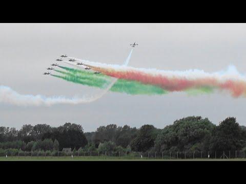 【4K】RIAT 2016 Frecce Tricolori Italian Air Force The Royal International Air Tattoo