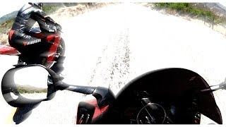 7. 1199 Panigale R VS R6 Top Speed Drag Race & Wheelie