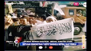 Video Ratusan Demonstran 02 Tuntut Bawaslu Sumut Netral saat Pemilu - iNews Sore 22/03 MP3, 3GP, MP4, WEBM, AVI, FLV Maret 2019