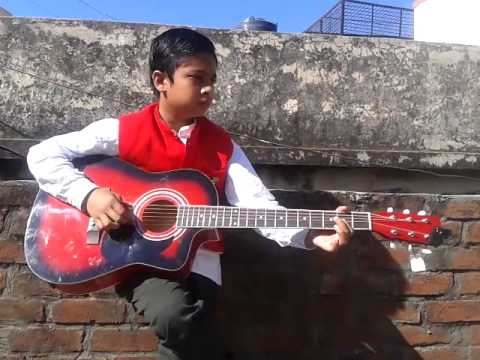 Old hindi song played on guitar