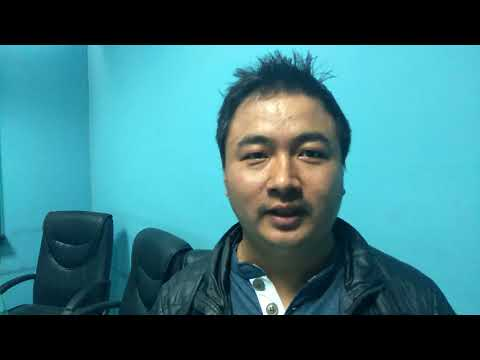 (Head System Department of OM Development Bank, Ashok Gurung - Duration: 39 seconds.)