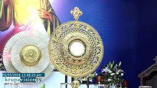 Fr.Dominic Valanmanal . ADORATION  AND DELIVERANCE PRAYER