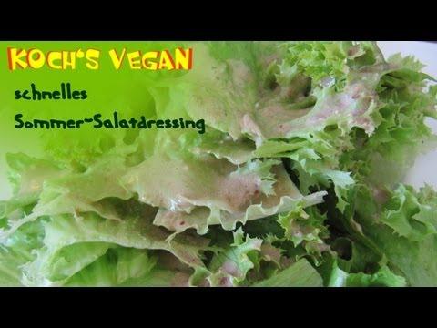 Schnelles Veganes Dressing – Salatdressing Selber Machen – Vegane Rezepte von Koch's Vegan [Rezept]