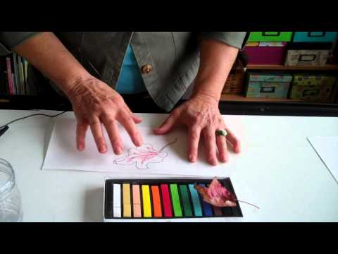how to chalk pastels
