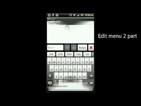 Video of Jota Text Editor