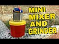 How To Make Mini Mixer And Grinder At Home.Life Hack