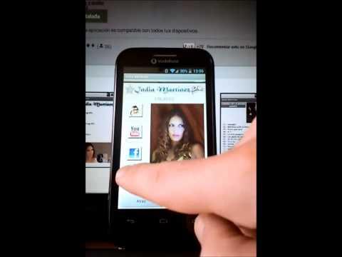 Video of India Martínez