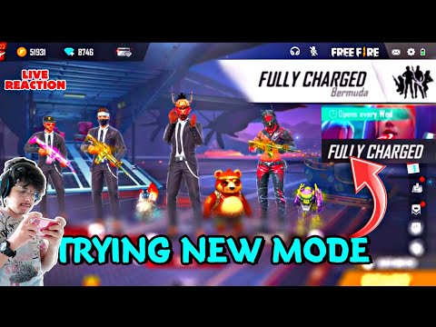 NEW MODE || FULLY CHARGED || TRYING FOR FIRST TIME 😱 || LIVE REACTION ON THIS MODE ||