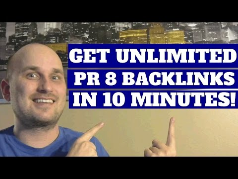 How to get high-quality SEO (PR8) backlinks in 10 minutes