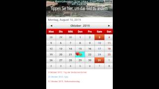 Deutsch Kalender 2016 YouTube video